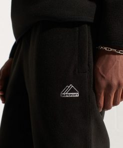 Superdry Mountain Sport Fleece Joggers Black