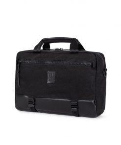 Topo Designs Commuter Briefcase Heritage Canvas Black